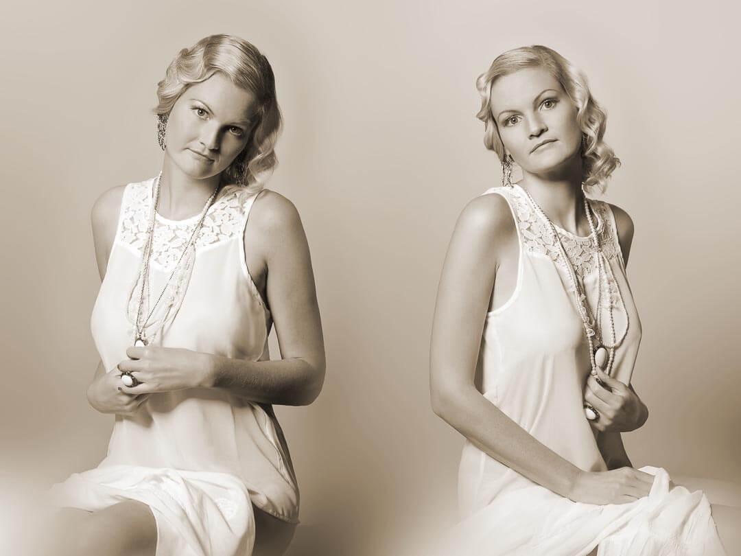 Fotostudio-Dresden-Fotograf-20iger Jahre-Styling-Schmuck-Kleid