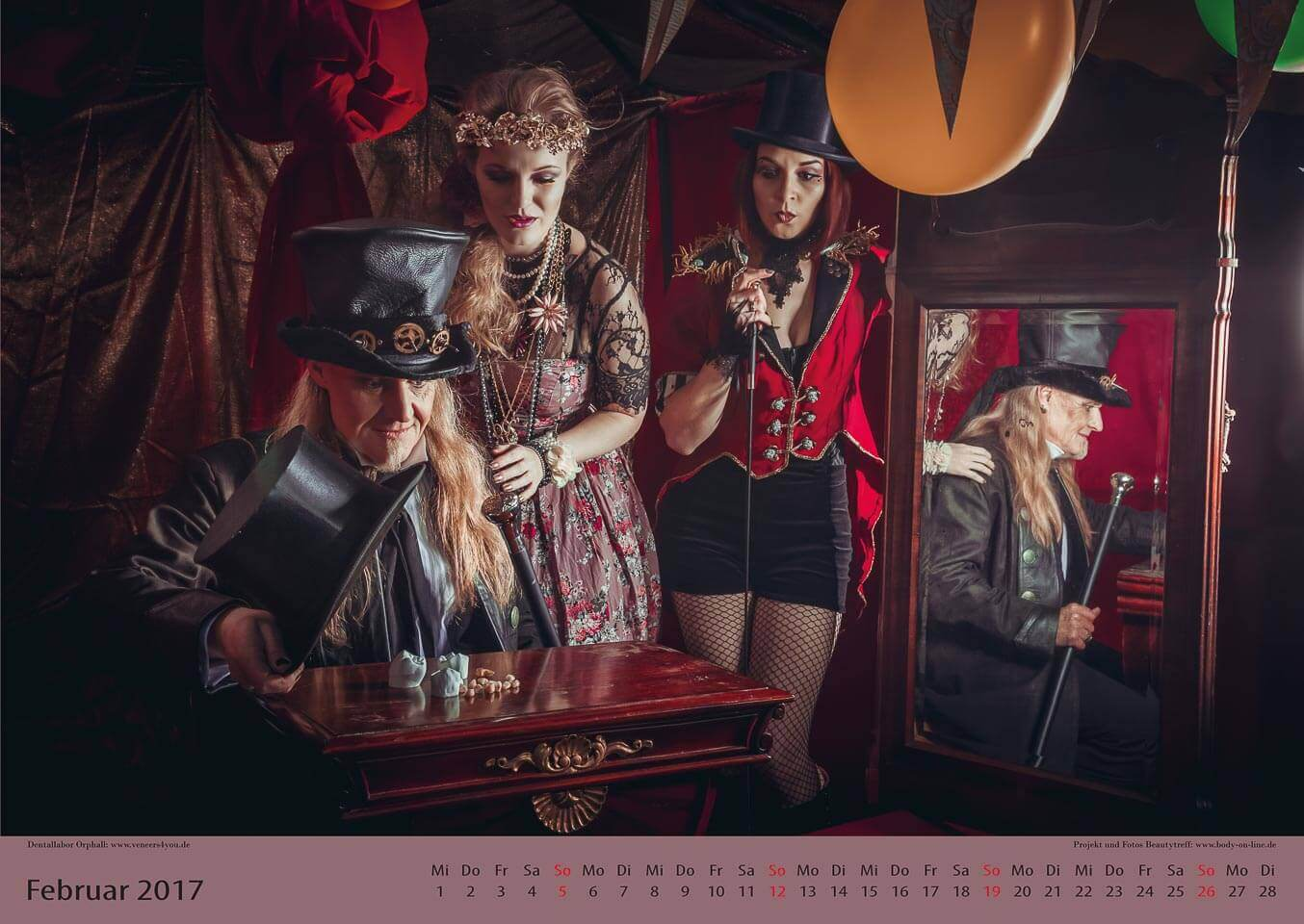 Fotograf-Fotostudio-Dresden-Zirkus-Shooting-Künstler-Artisten-Clown-Vorstellung-Zauberei-Styling-Make up-Unterhaltung