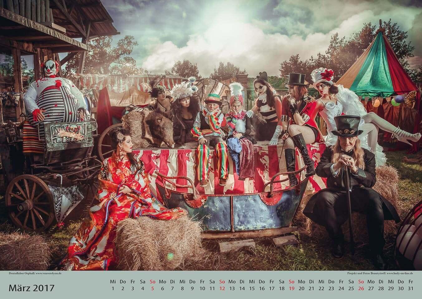 Fotograf-Fotostudio-Dresden-Zirkus-Shooting-Künstler-Artisten-Clown-Vorstellung-Tiere-Styling-Make up-Unterhaltung