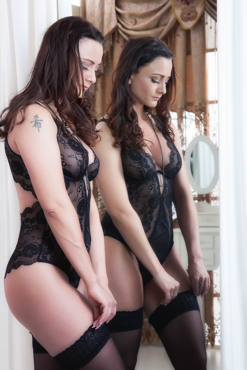 Fotostudio für erotische Bilder schwarze Dessous