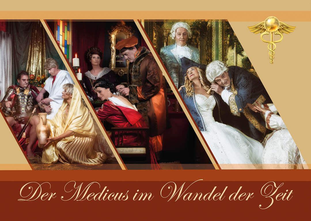 Fotograf-Fotostudio-Dresden-Medicus-Barock-Gewand-Medizin-Kräuter-Arzt-Historie-Geschichte-Damen-Herren