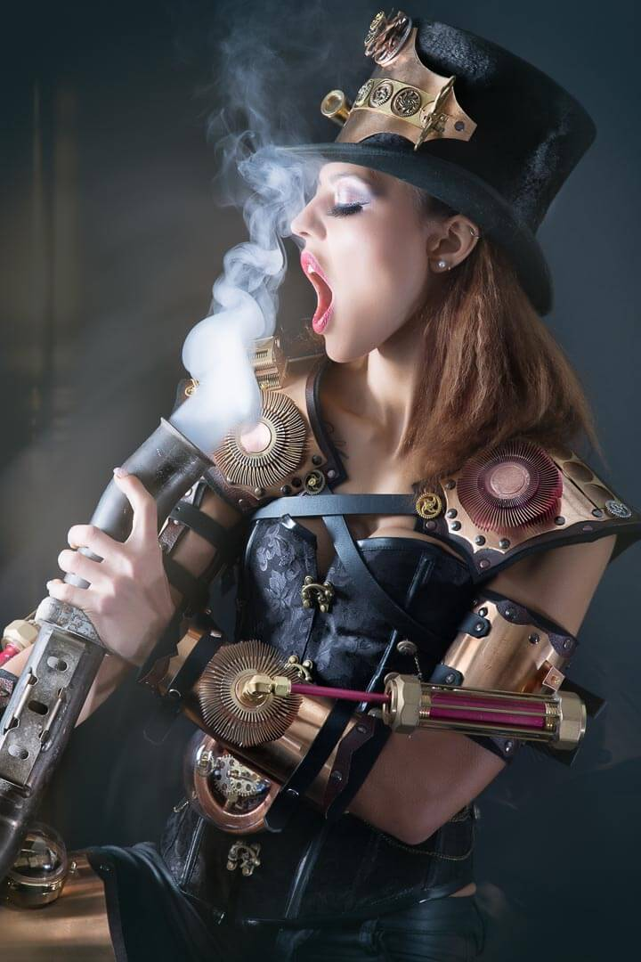 Fotograf-Fotostudio-Dresden-Steampunk-Shooting-Kostüm-Styling-Technik-Dampf-Mechanik-Kunst-Bewegung