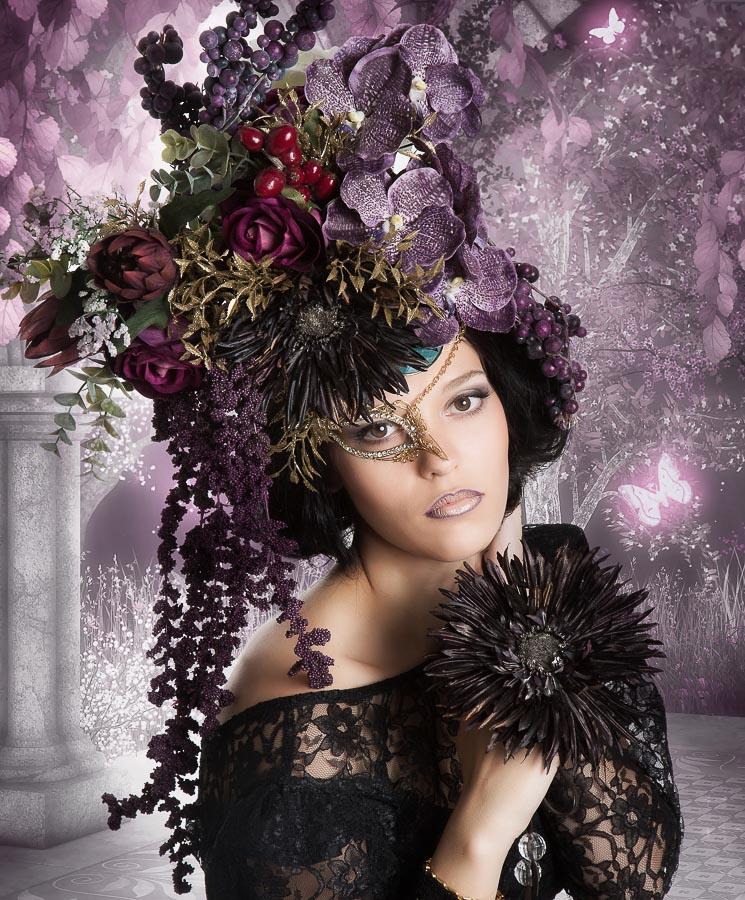 Blumenshooting-Black mit Swaantje