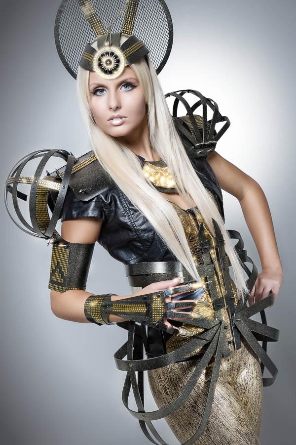 Metallkostüme Fotoshooting