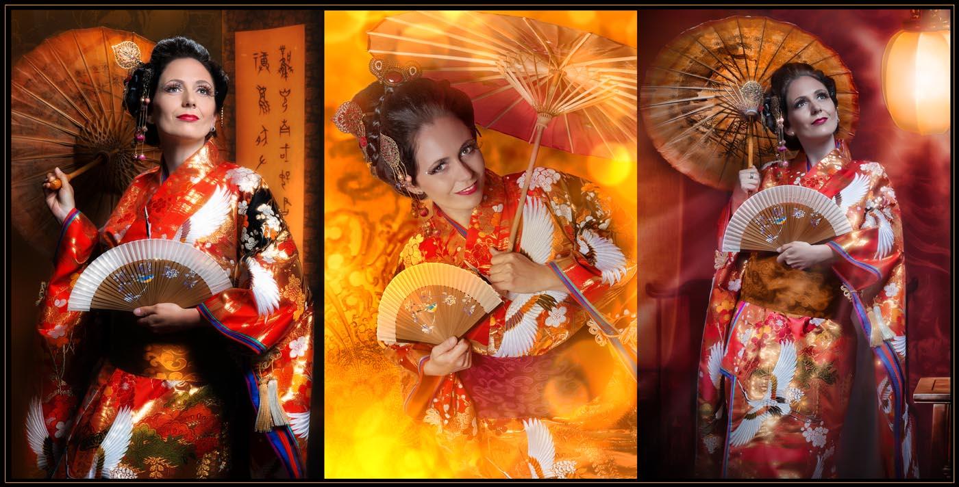 Kimono Fotoshooting