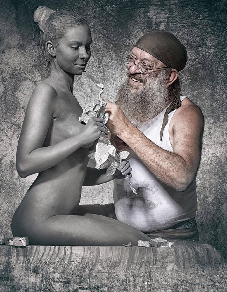 Bildhauer Fotoshooting