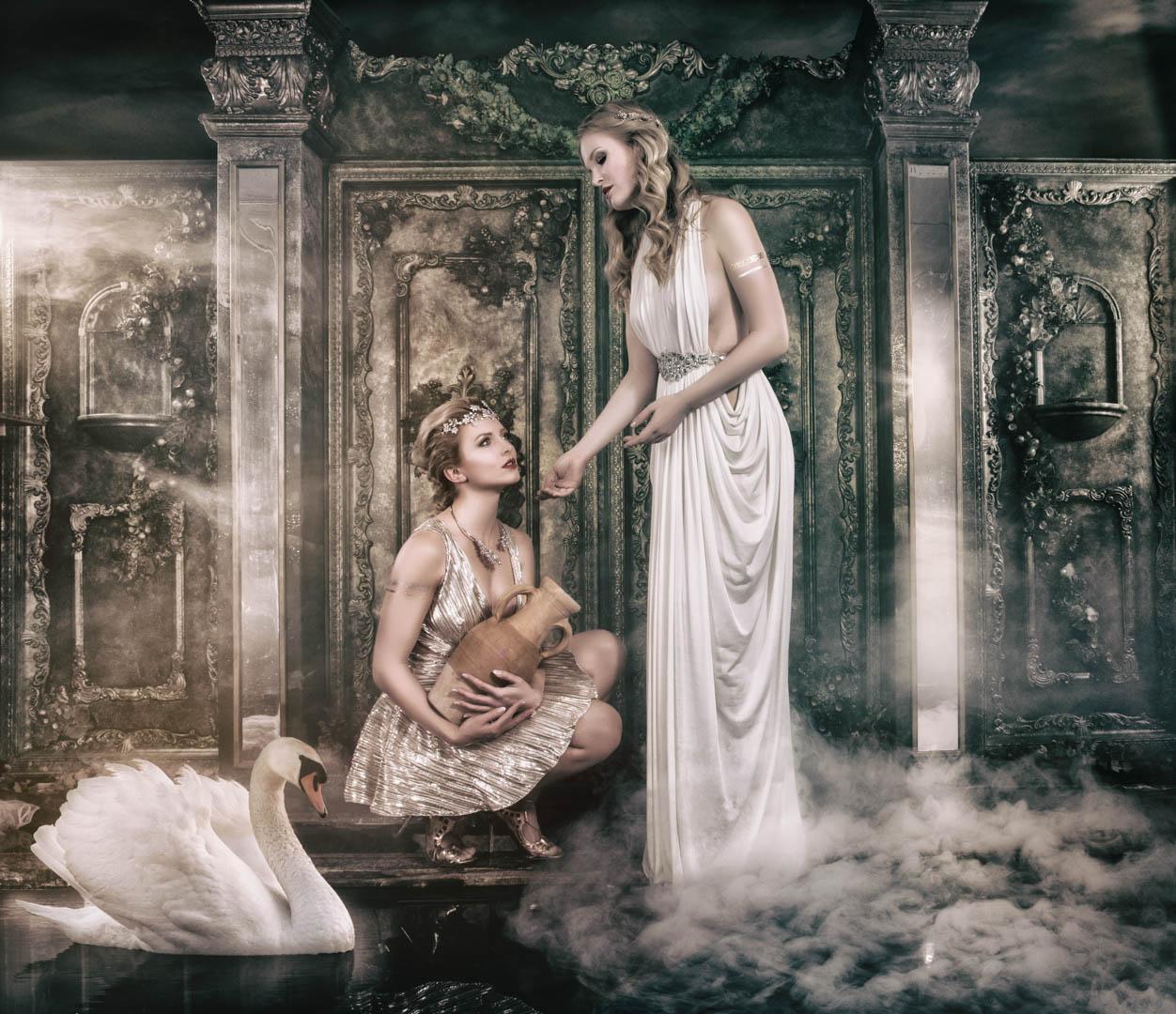 Fotoshooting Göttinnen