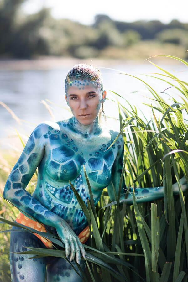 Kunstprojekt: Die Malerin
