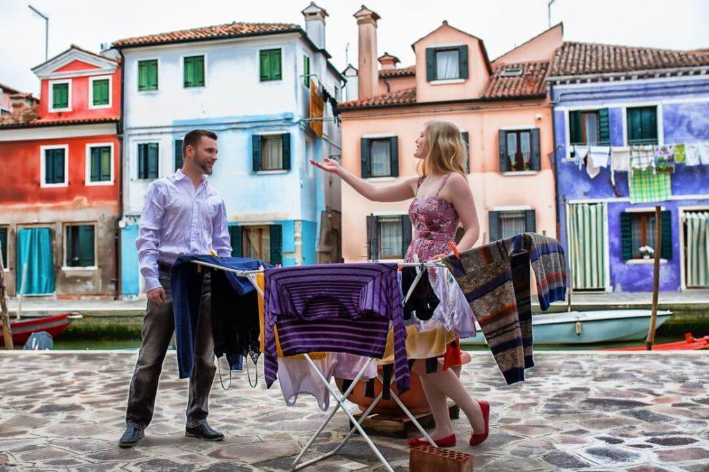 Fotograf in Burano
