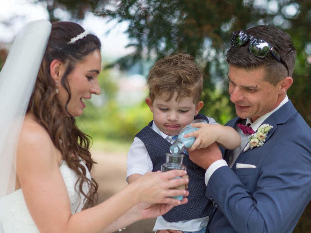 Hochzeitsreportage  Kind